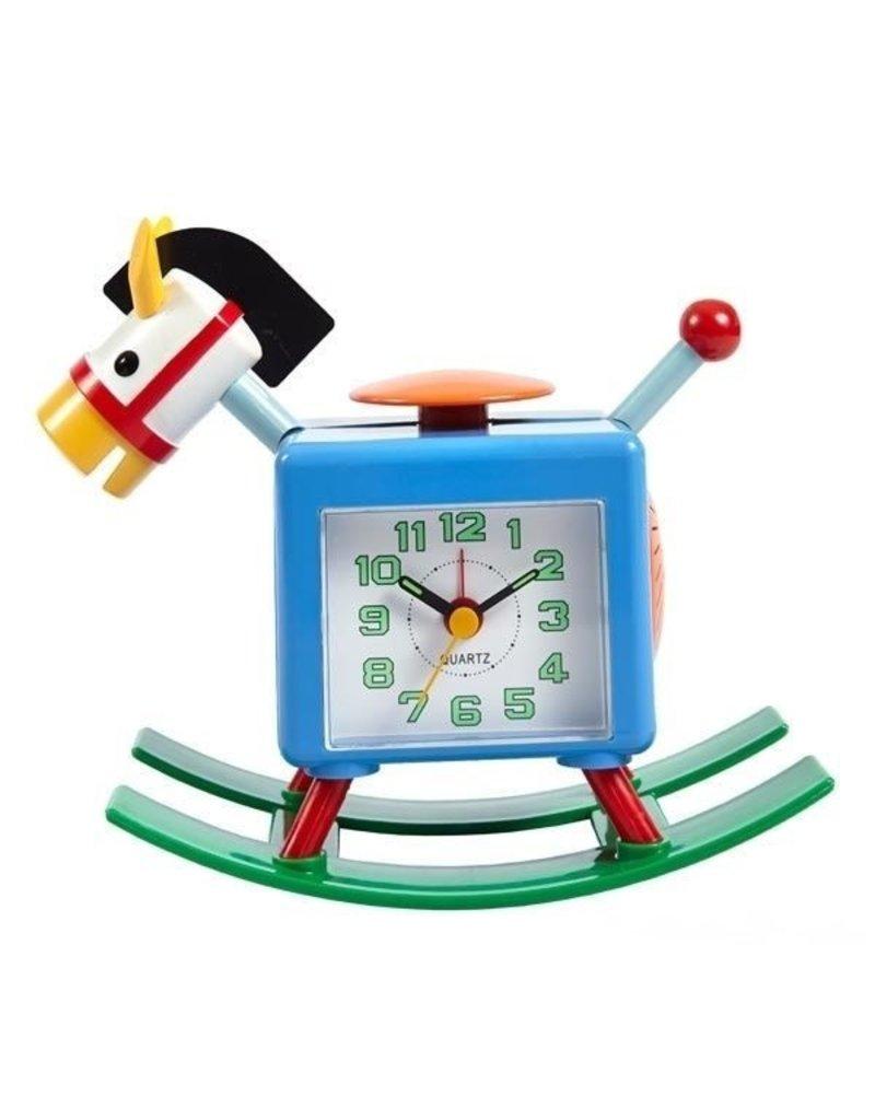 Rocking pony alarm clock