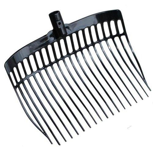 Mestvork kunststof black zonder steel