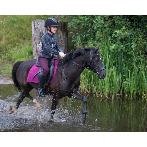 QHP Rijbroek Charlene Junior anti-slip zitvlak