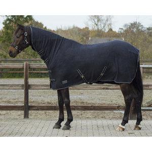 QHP Deken fleece Basic hals&singels