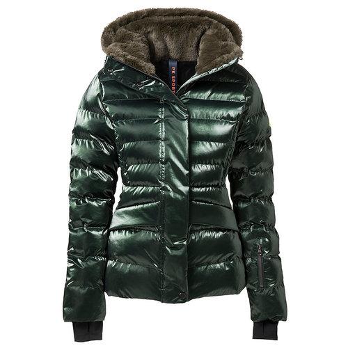 PK International Sportswear Winter Jacket Catano Forest Night