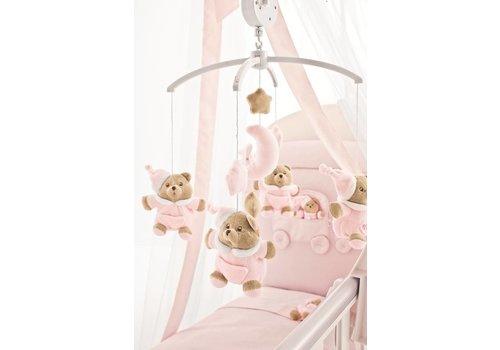 Nanan muziekmobiel puccio - roze