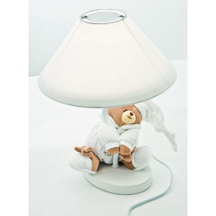 Lampje met beer Tato - Wit-1