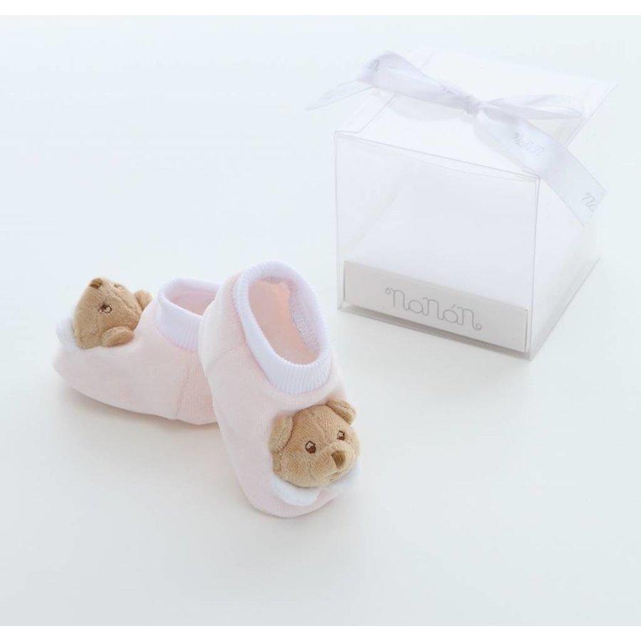 baby slofjes puccio - roze-1