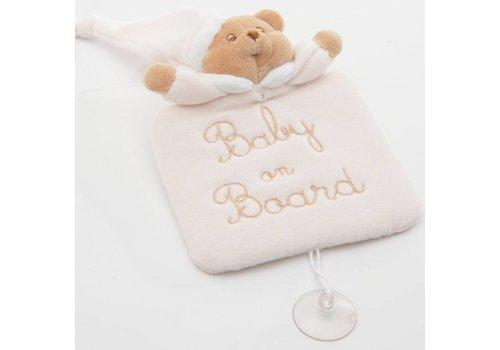 Nanan baby on board Puccio - Roze