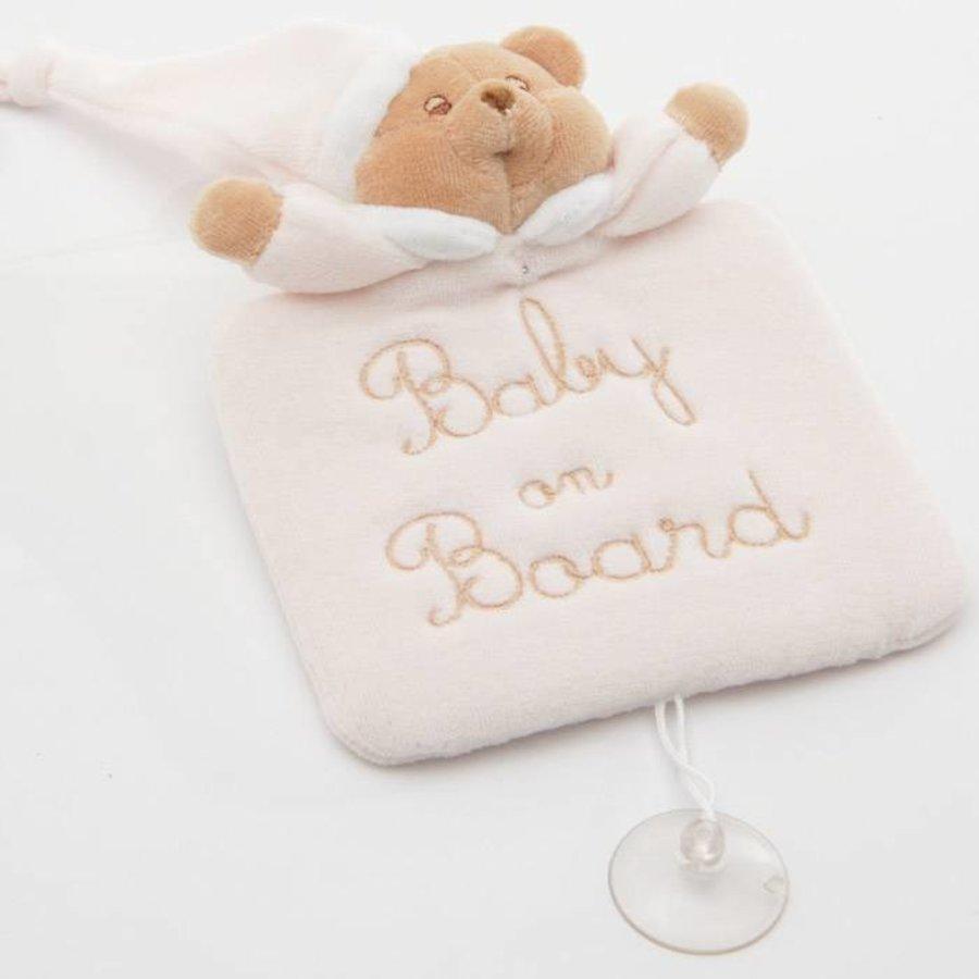 baby on board Puccio - Roze-1