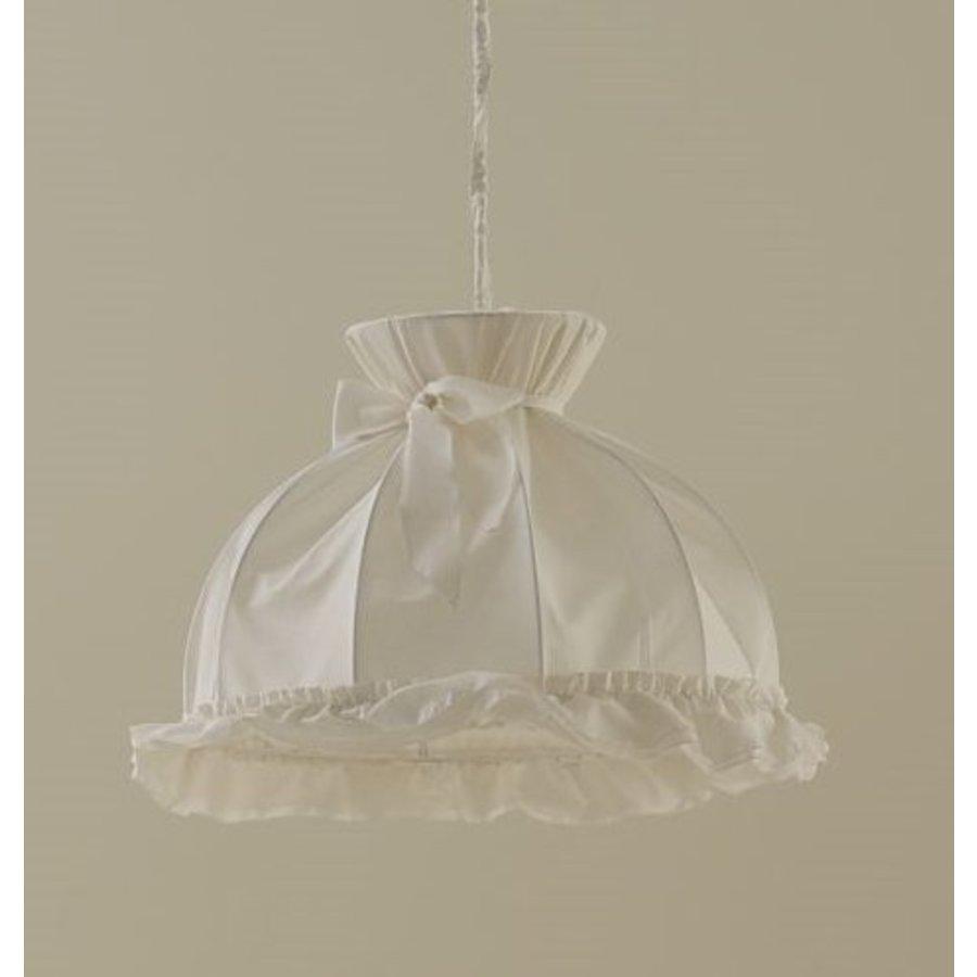 Hanglamp met strik Prestige - Wit-1