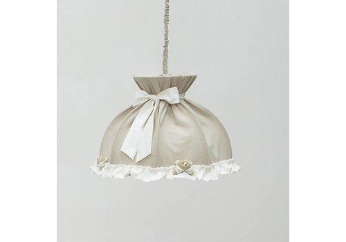 Nanan hanglamp klein tato - wit