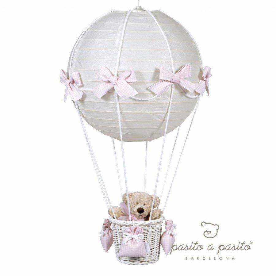 Luchtballon lamp - Roze-1