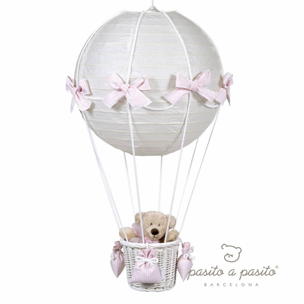 prachtige hangl als luchtballon roze baby dreams nl