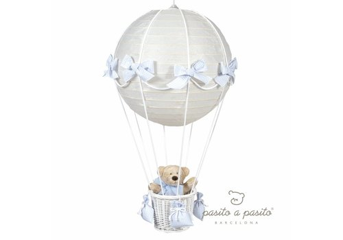 Pasito a Pasito Luchtballon lamp - blauw