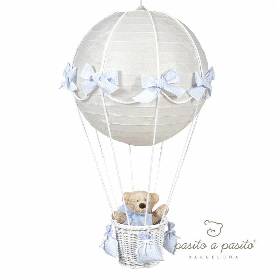 Luchtballon lamp - blauw-1