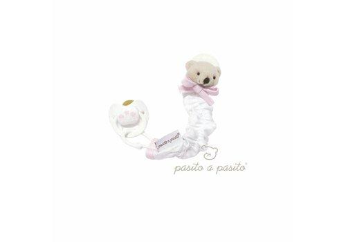Pasito a Pasito speenkoord beertje - roze