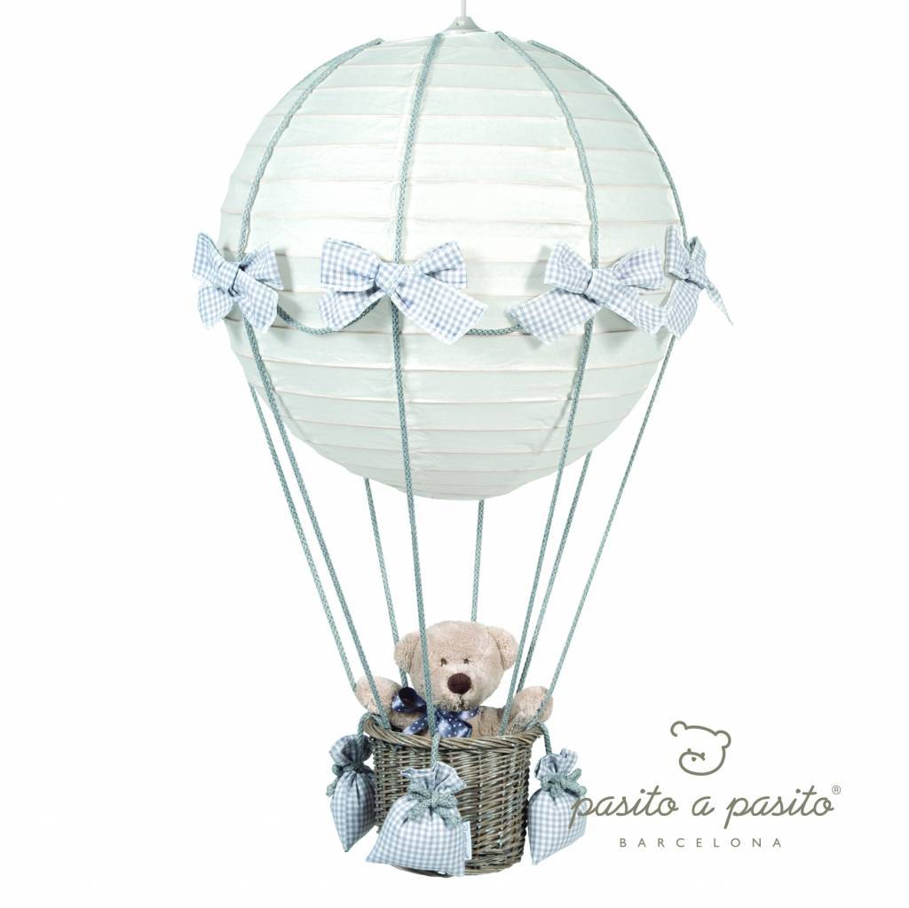 prachtige hangl als luchtballon grijs baby dreams