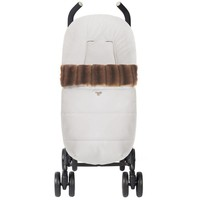 autostoel voetenzak - off-white