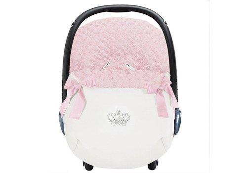 Uzturre autostoel voetenzak - roze