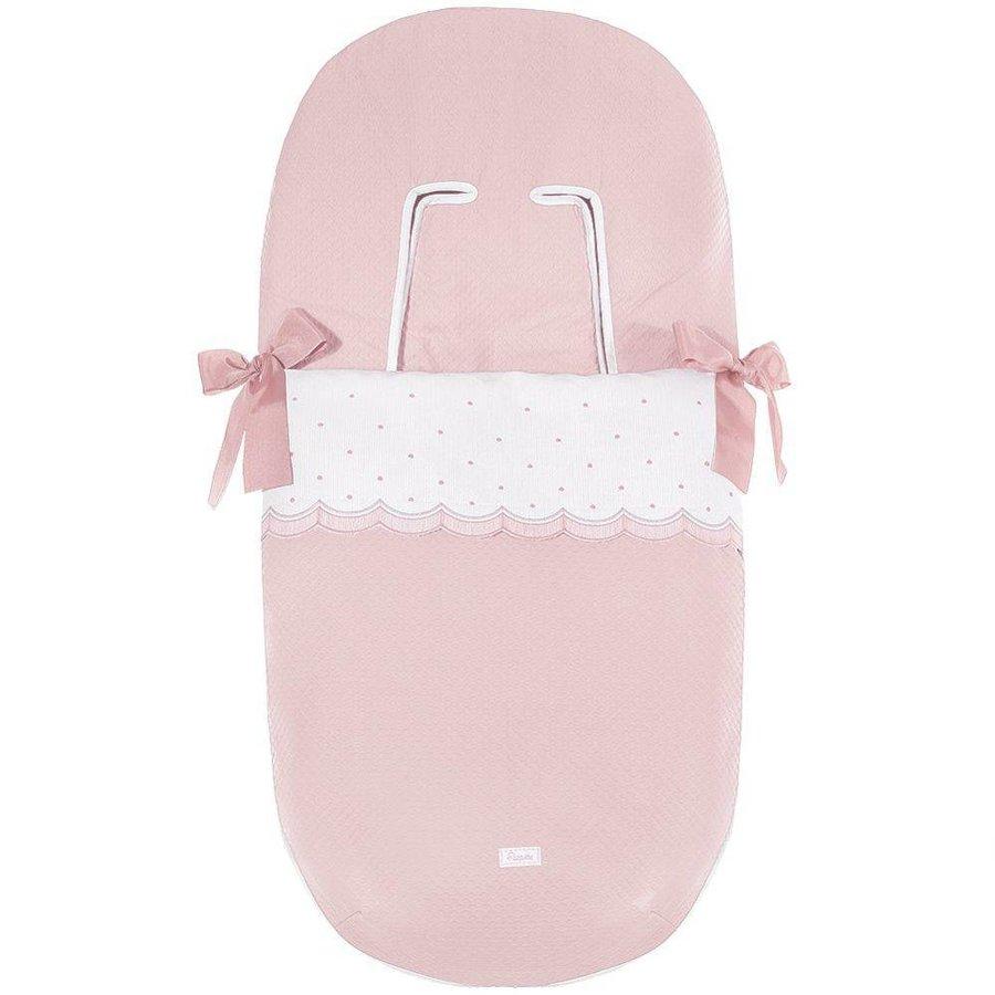 buggy voetenzak - roze-1