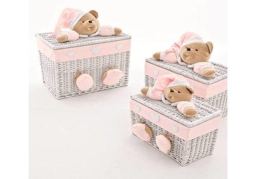 Nanan speelgoedmand puccio - roze