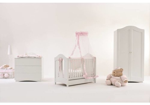 Nanan Babykamer relief Puccio - Roze