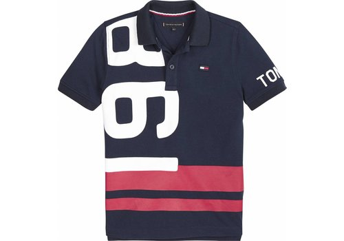Tommy Hilfiger polo met print