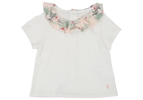 Carrement Beau t-shirt met kraagje