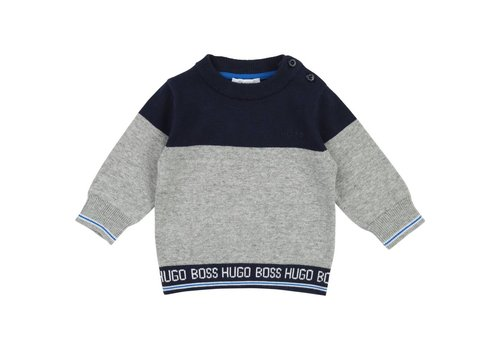Hugo Boss trui met logoband