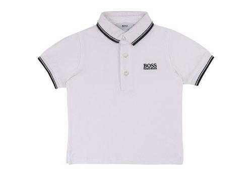 Hugo Boss polo met logo