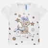 Mayoral t-shirt met glitters