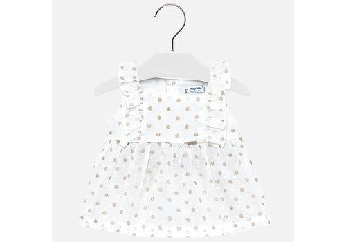 Mayoral blouse met roesel