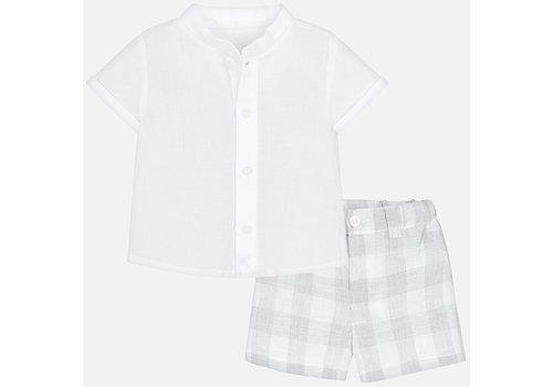 Mayoral overhemd met broek 2 delig