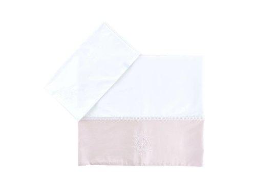 Théophile & Patachou lakenset ledikant -  Royal Pink