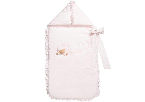 Nanan voetenzak puccio - roze