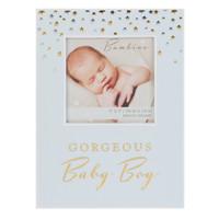 Fotolijst baby boy - blauw