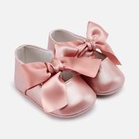 thumb-schoentjes met strik - roze-1