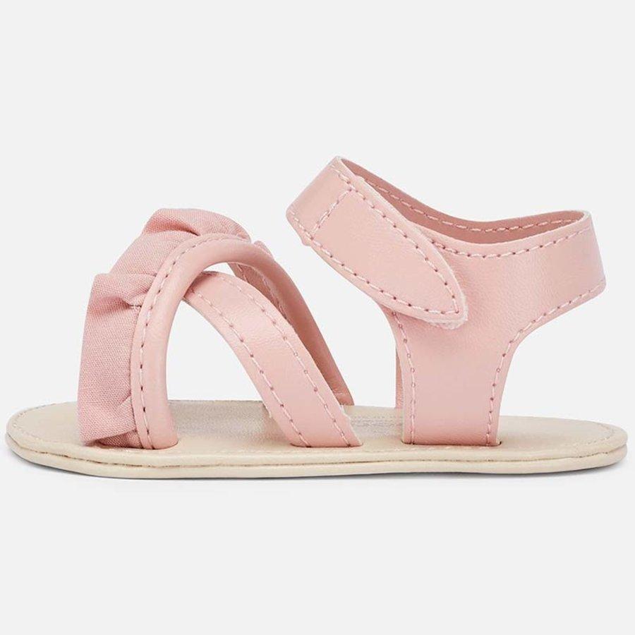 sandaal met ruches - roze-2