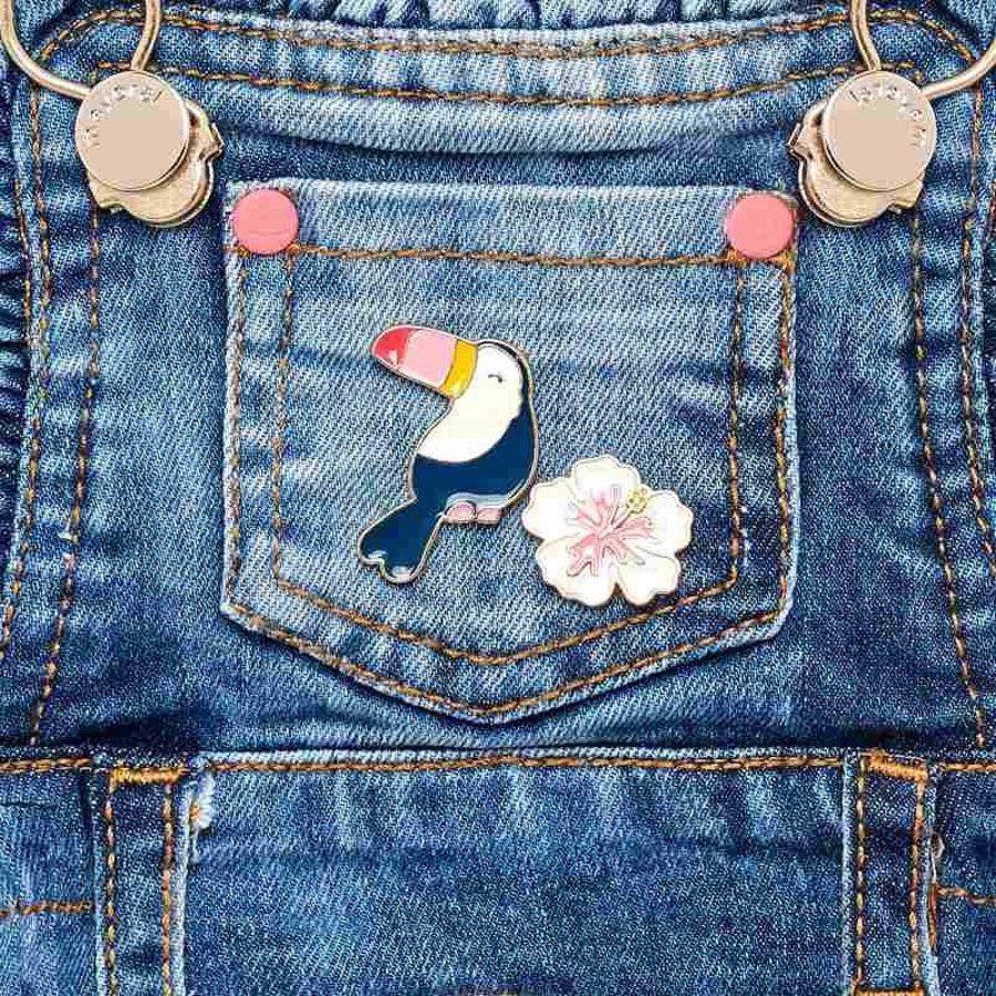 spijkerjurkje met bloem-3