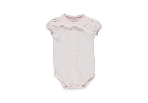 Pureté du Bebe romper met kraagje kant - roze