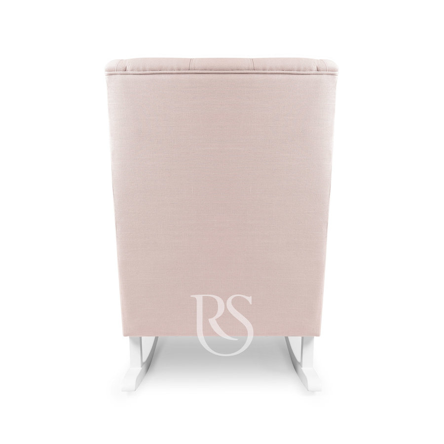 schommelstoel Royal Rocker - Blush Pink-4
