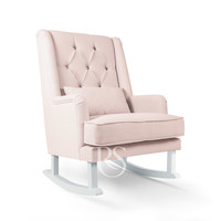 thumb-schommelstoel Royal Rocker - Blush Pink-1