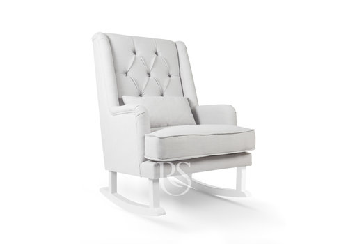 Rocking Seats schommelstoel Royal Rocker - Silver Grey