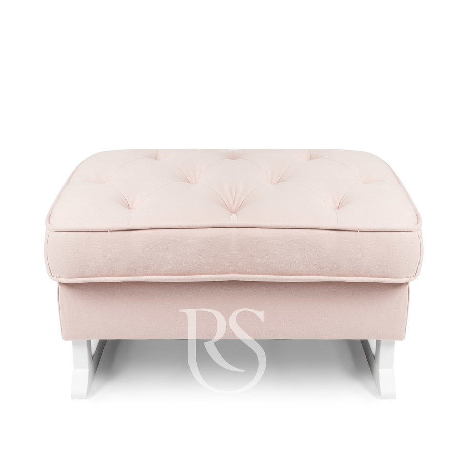 voetenbank Royal - Blush Pink-1