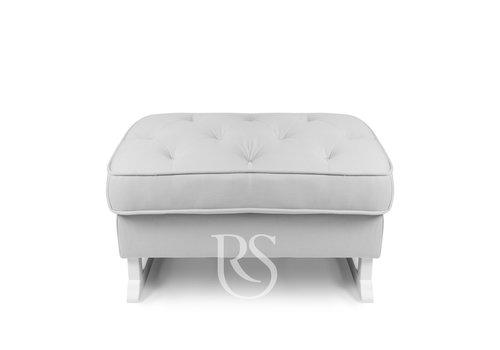 Rocking Seats voetenbank Royal - Silver Grey