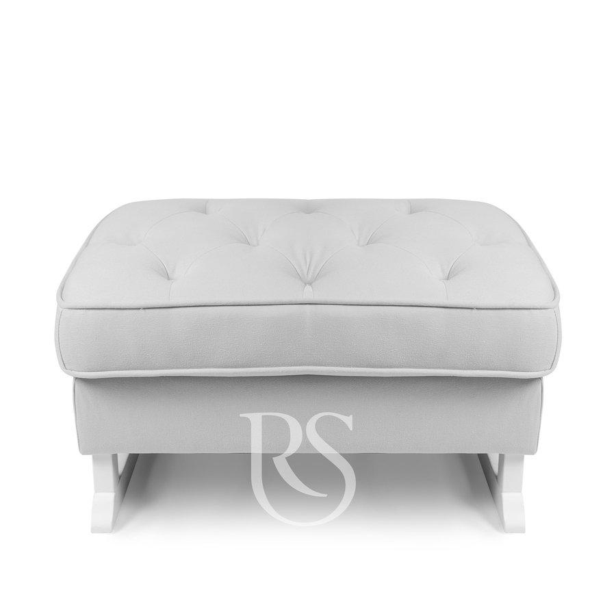voetenbank Royal - Silver Grey-1
