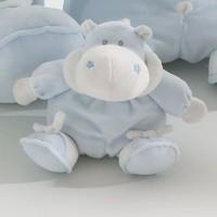 knuffel klein bombo - blauw