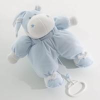 muziekbeer bombo - blauw