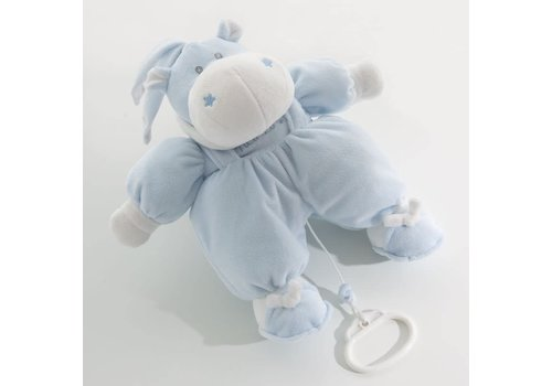 Nanan muziekbeer bombo - blauw
