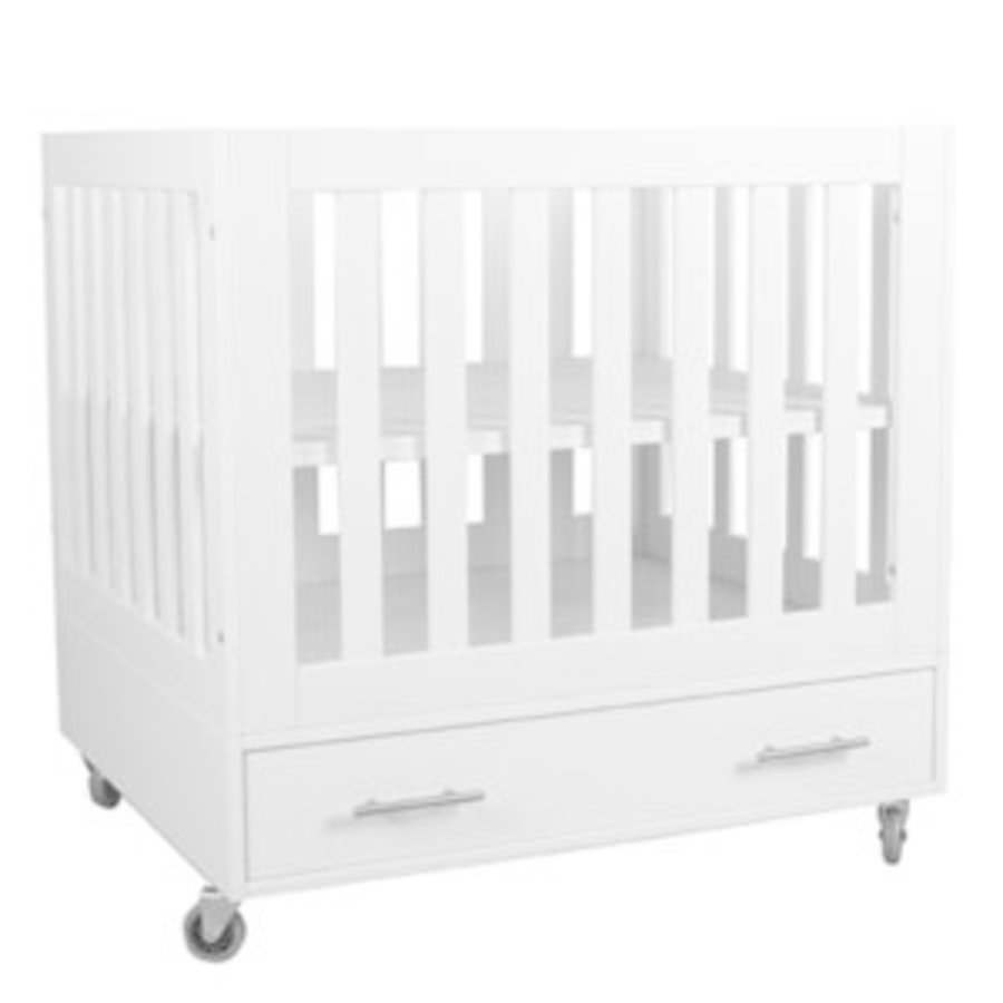 Babybox parijs op wielen - wit-1