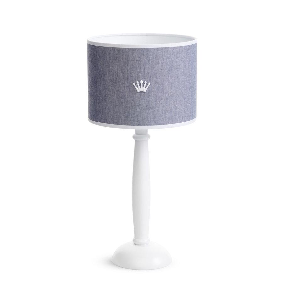 tafellamp met houten voet - True Blue-1