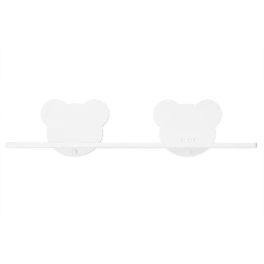 wandplank teddy dubbel - wit-1