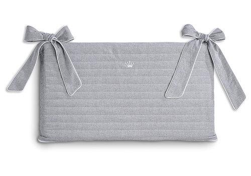 First - My First Collection bedomrander katoen - Endless Grey